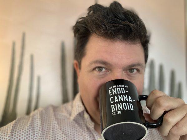 Ricardo with mug